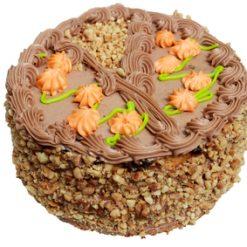 Cake coffee walnut