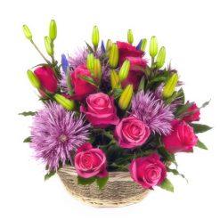 Send flower basket to Ukraine today